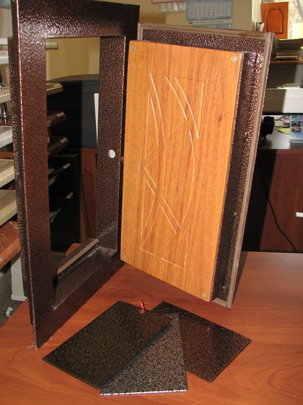 изготовление металлических дверей троицк