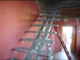 Цена на изготовление лестниц на металлическом каркасе в Днепре (Днепропетровск)