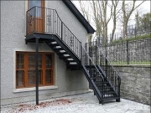 Цена на металлическую лестницу на мансарду в Днепре (Днепропетровске)