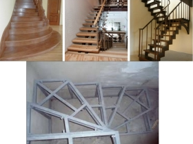 Недорогие металлические лестницы эконом класса. Дешевые, но качественные лестницы. Изготовление каркаса лестниц
