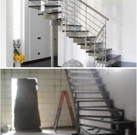 Индивидуальные металлические лестницы для частного дома. Металлический каркас для лестницы в Днепре (Днепропетровске)