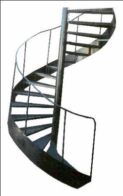 Кольцевые металлические лестницы. Каркас. Узнать стоимость в Днепре (Днепропетровск)