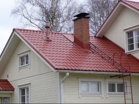 Металлические лестницы на кровлю (кровельные), на крышу изготовить на заказ в Днепре (Днепропетровске)