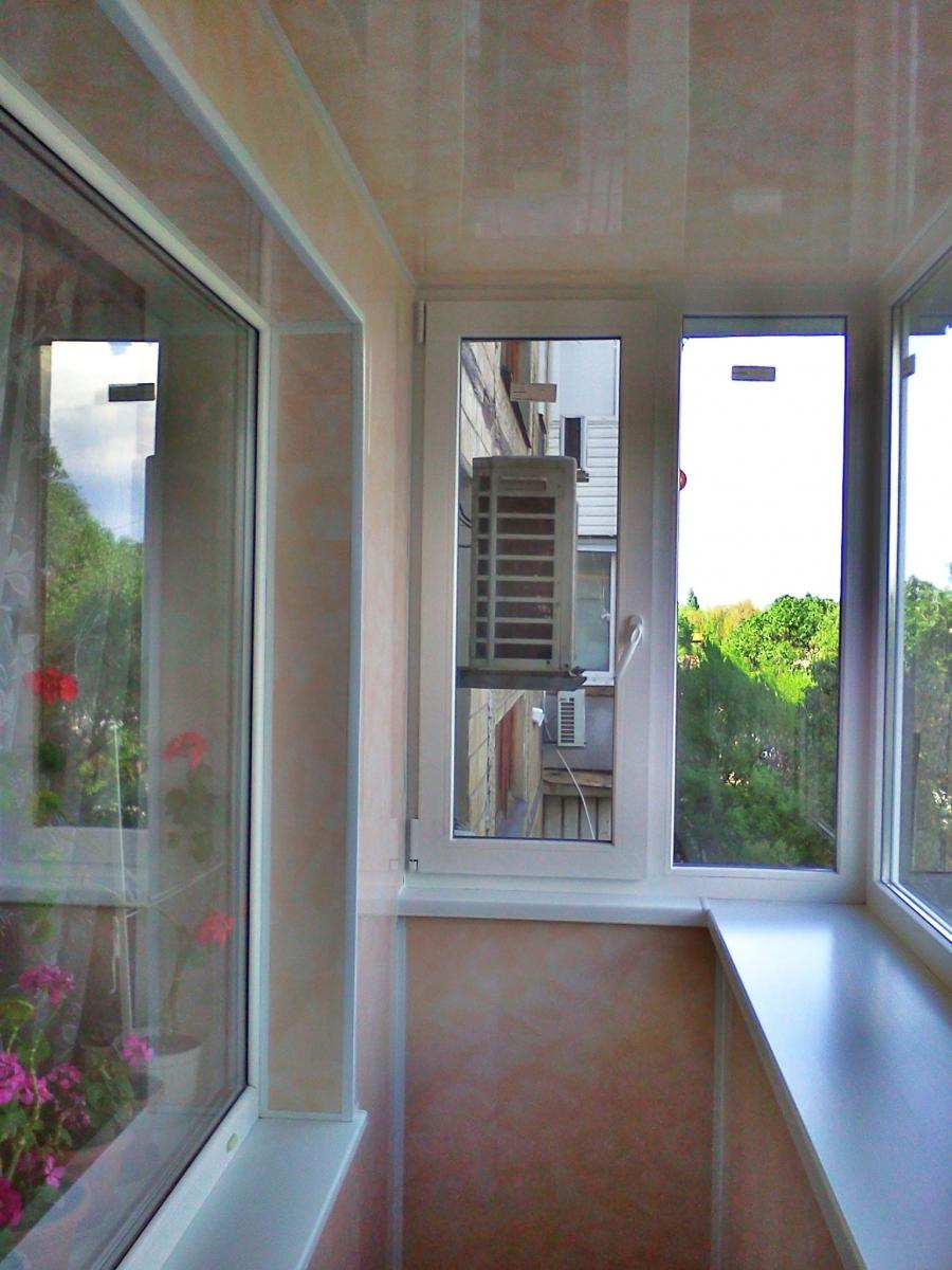 Красивые балконы в хрущевке фото.