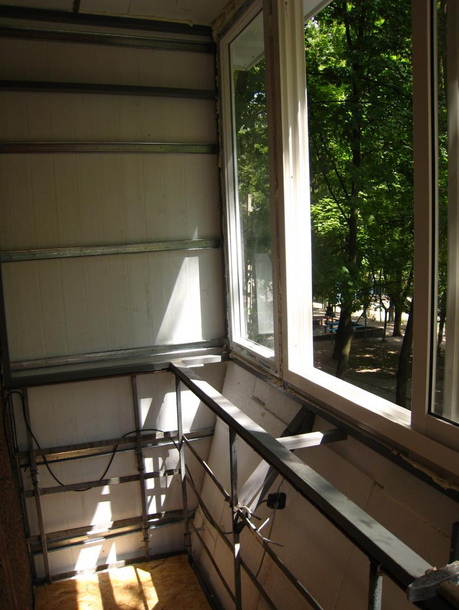 Внутренняя отделка балкона днепропетровск макслория ml.dp.ua.