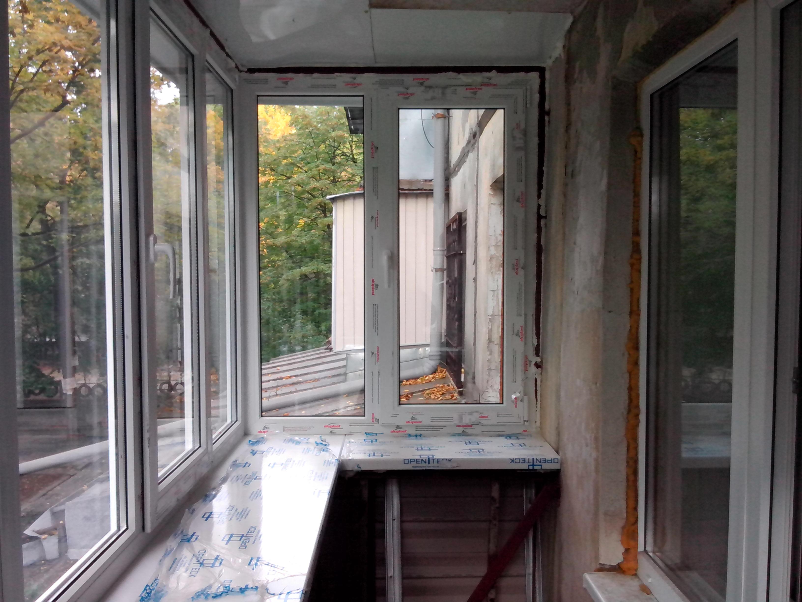 Балкон под ключ макслорія ml.dp.ua - магазин дверей та метал.