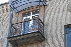 Кованый балкон под ключ