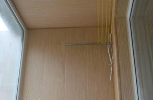 Внутренняя отделка Бамбуком. Утепление Балкона Днепропетровск