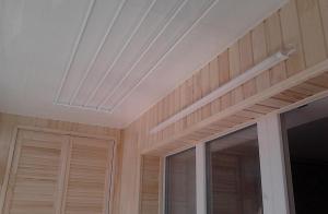 Потолочная сушилка балкона под ключ