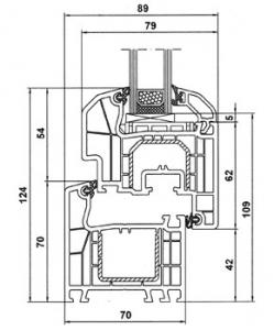 ALUPLAST 4000 - пятикамерная система профиля