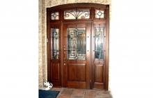 Входные Двери с Витражем