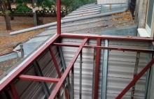 Сварка каркаса балкона с выносом Днепропетровск