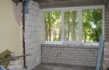 Совмещение комнаты с Балконом Днепропетровск