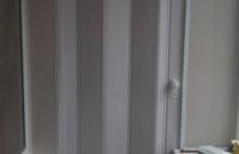 Складывающиеся Двери-Гармошка для Шкафа на Балкон Днепропетровск