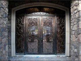 Заказать Дизайнерские металлические двери на заказ в Днепре (Днепропетровск)